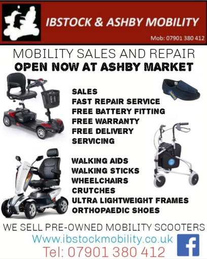 Ibstock mobility shop><i want to sell my mobility scooter